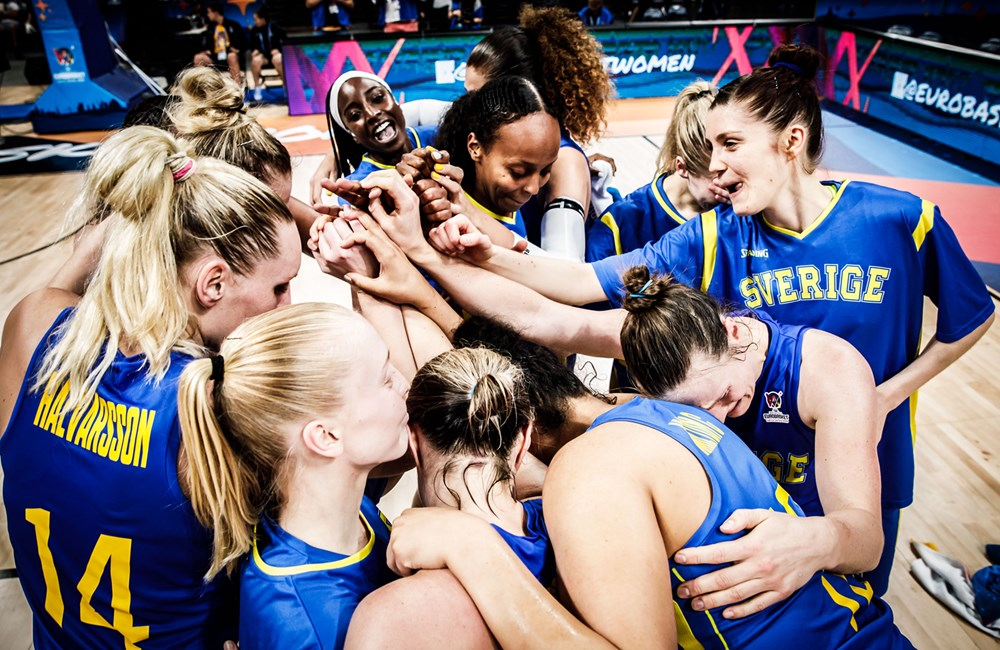 Amanda Zahui B and Sweden's prayers are answered