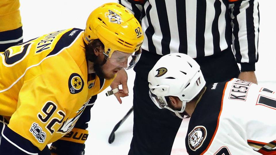 Predators' Ryan Johansen, Ducks' Ryan Kesler continue offseason war of words