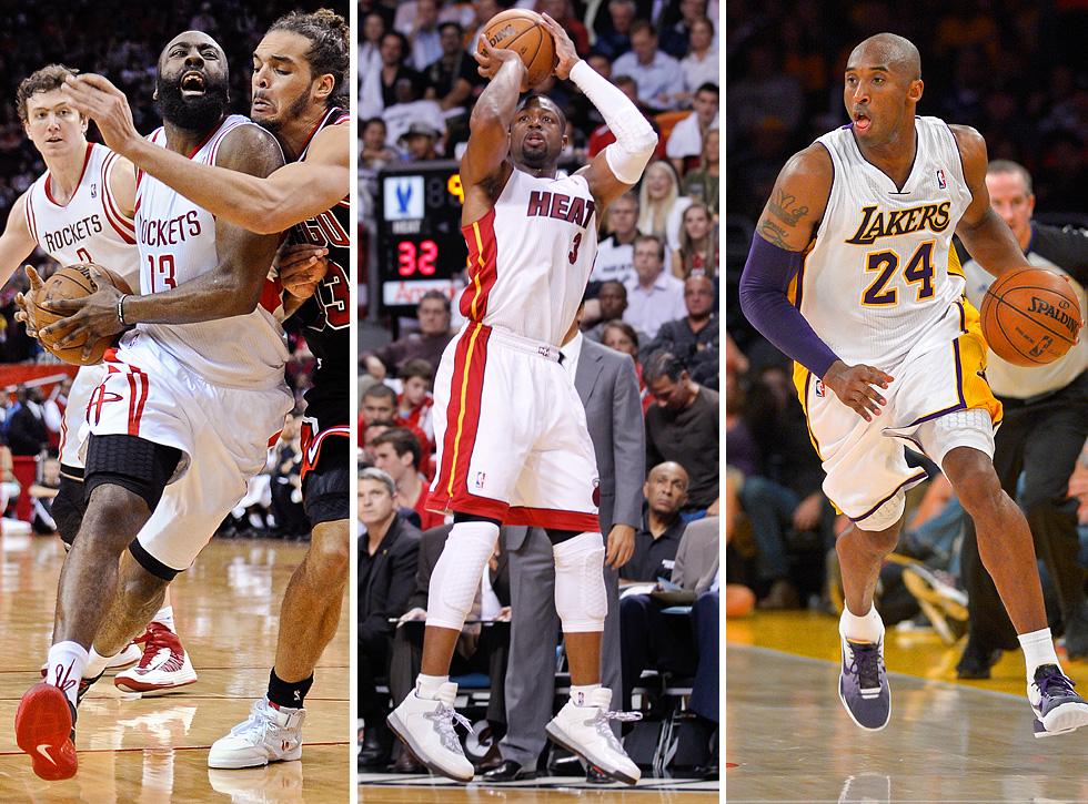 496a466a6ded GM survey  James Harden picked as NBA s top shooting guard