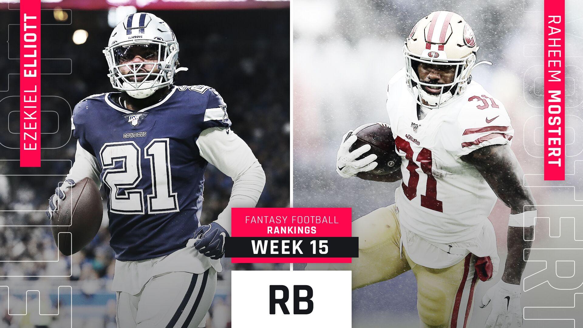 Clasificación de la Semana 15 de Fantasy RB: Todd Gurley y Raheem Mostert avanzan durante los playoffs de fantasía 11