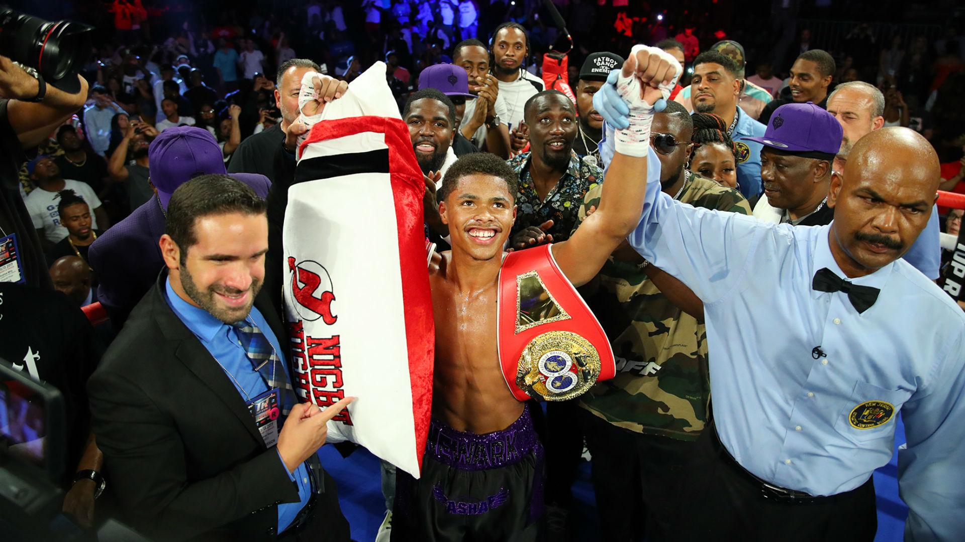 Shakur Stevenson dazzles with third-round KO of Alberto Guevara in Newark homecoming; calls out Josh Warrington