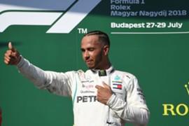 ハミルトン、ハンガリーGP優勝 2018