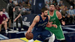 NBA 2K16 Christmas Grizzlies Celtics