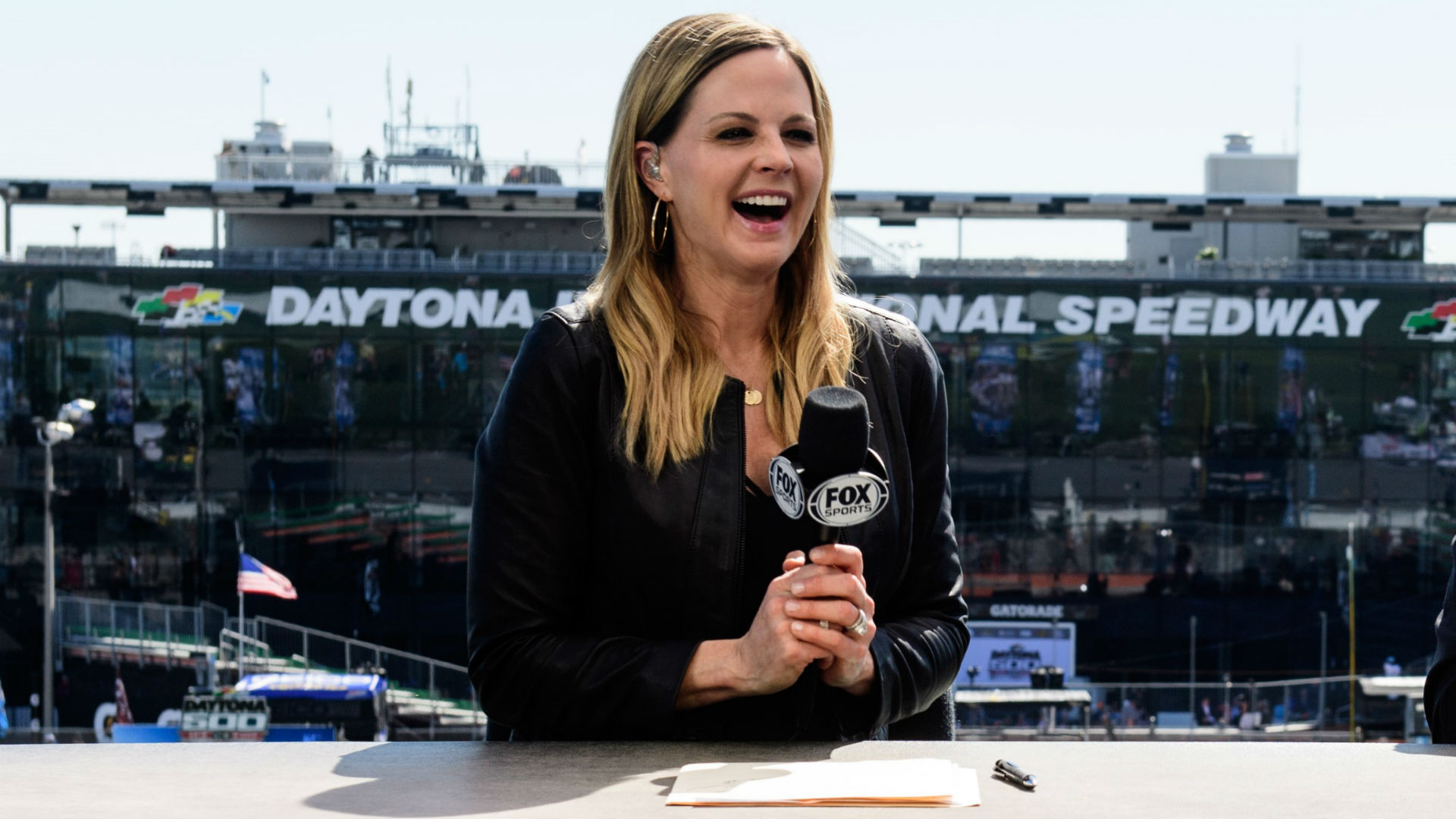 All in with Shannon Spake: Fox Sports' broadcasting polymath is always on the move  --  literally