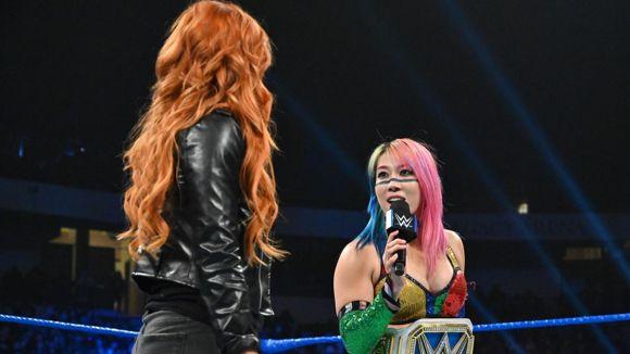WWE, スマックダウン, #1013, アスカとベッキーが喧々諤々