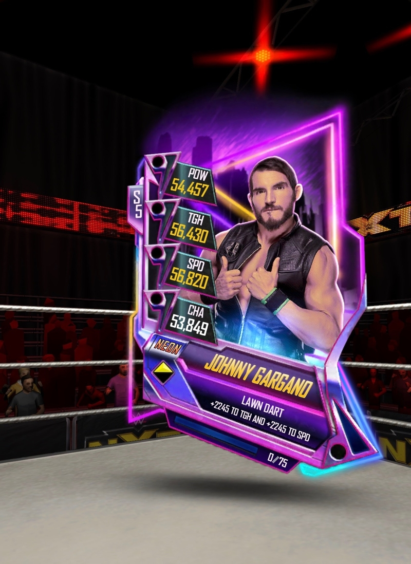 Johnny Gargano WWE Supercard S5