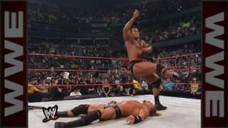 WWE バックラッシュ ザ・ロック トリプルH WWE王座戦 WWF