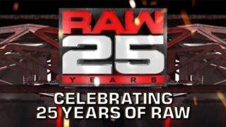 RAW #1287 25th Celebrating