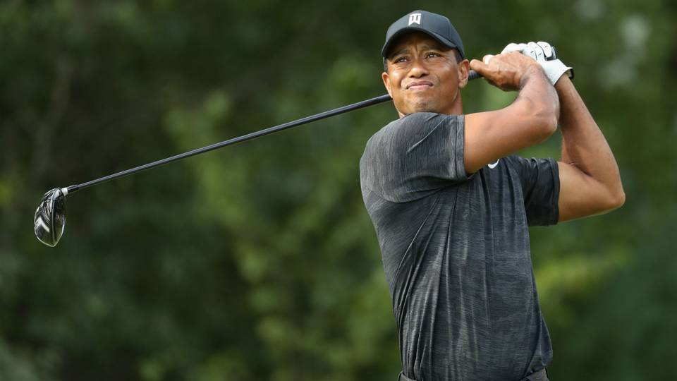 Tiger Woods' score, highlights from Round 2 of Dell Technologies Championship