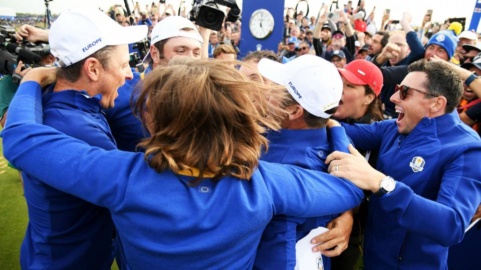 Ryder Cup results: Team Europe stops Team USA comeback, takes back title
