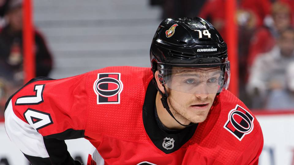 Senators' Mark Borowiecki suspended again, this time for Cody Eakin head-shot