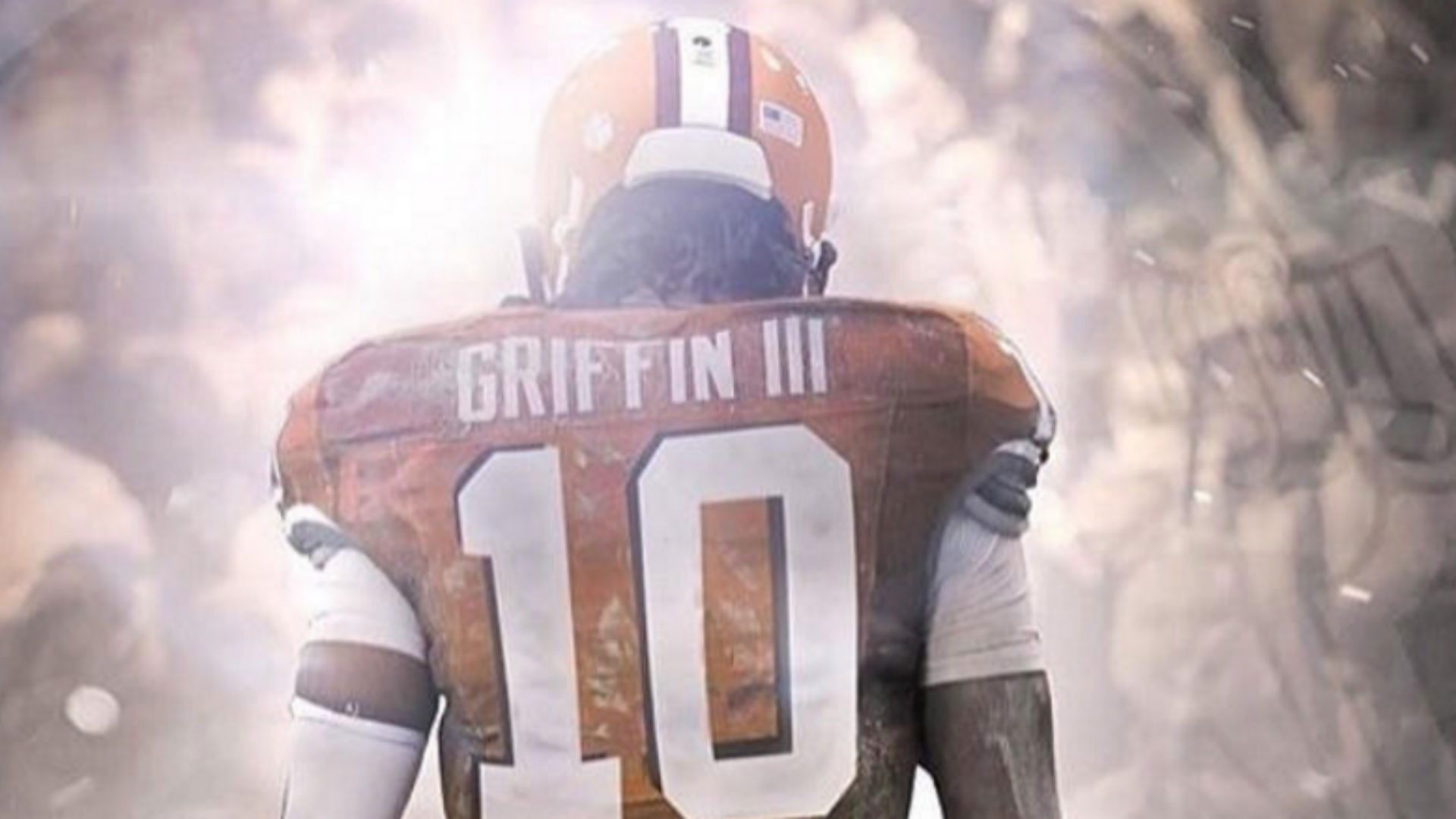free shipping ae315 18035 RGIII's Browns uniform will be on the shelves soon enough ...