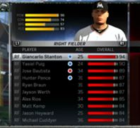 MLB 15: The Show - Top Rated Right Fielders