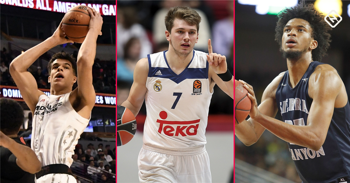 NBA Mock Draft 2018: Luka Doncic rises above top college prospects in fight for No. 1 spot