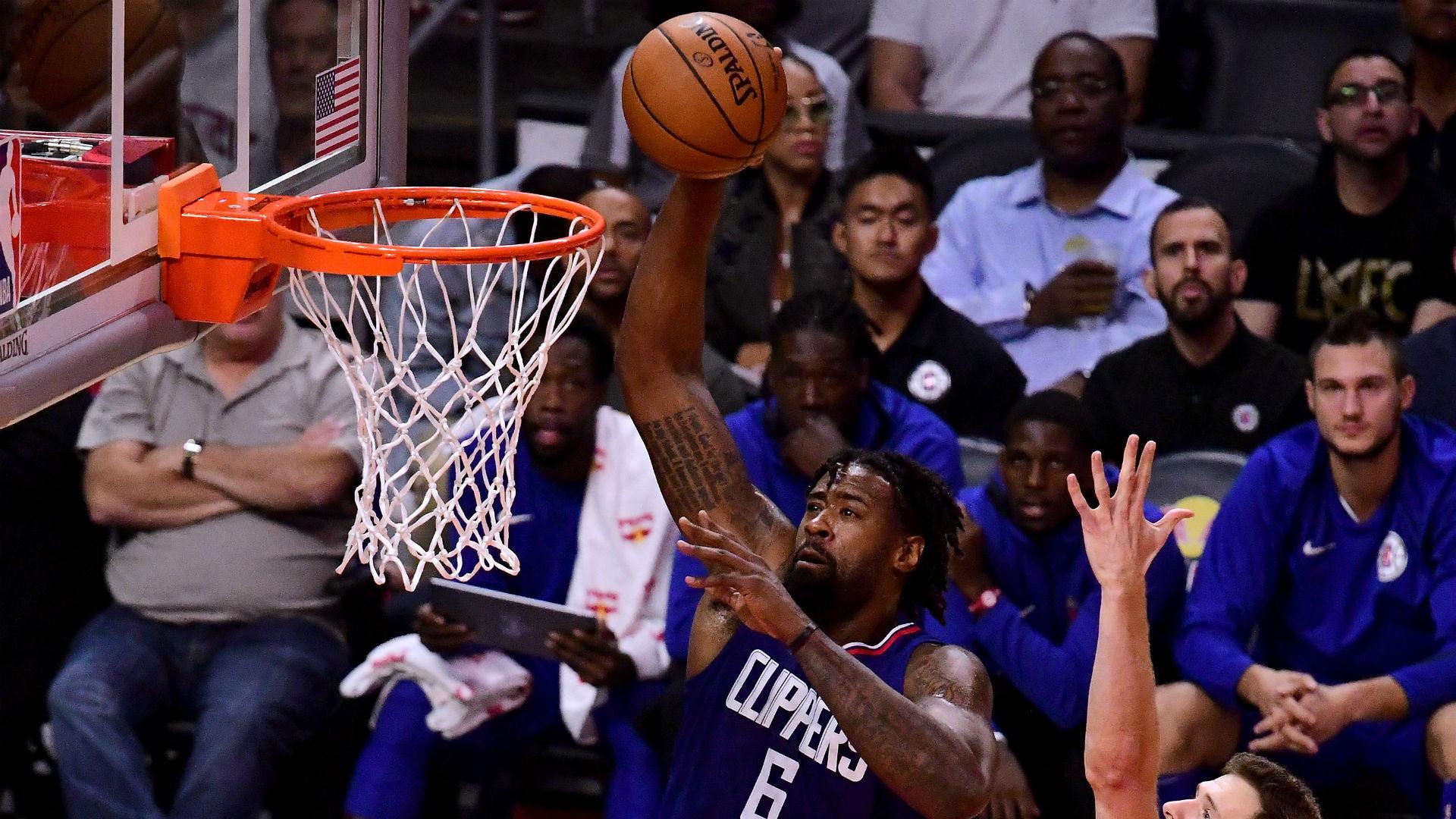NBA trade rumors: Clippers, Rockets considered deal involving DeAndre Jordan, Clint Capela