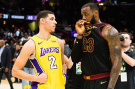Lonzo Ball, LeBron James