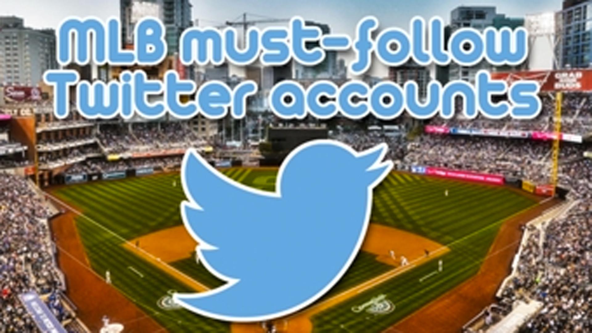 1b6b8480 MLB must-follow Twitter accounts for 2019 | Sporting News