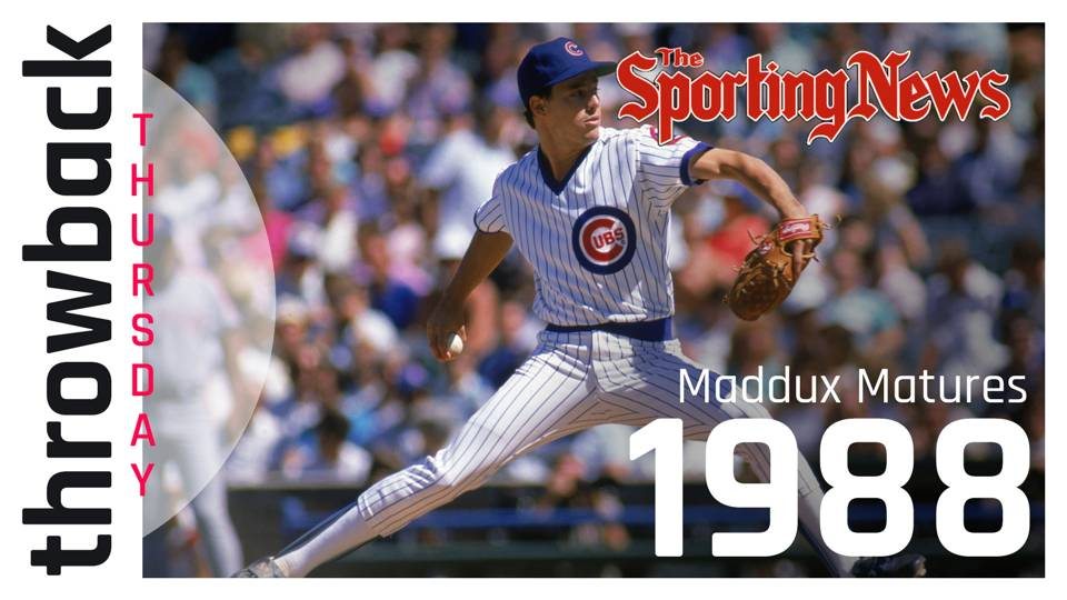 SN Throwback Thursday: Young Greg Maddux turns a corner for Cubs