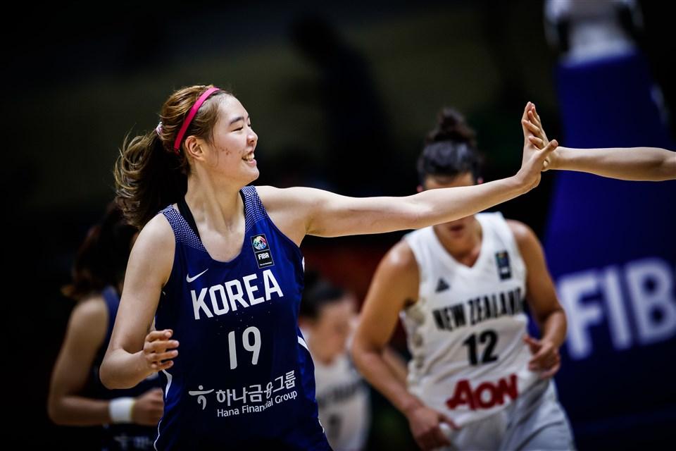 Park Jisu FIBA Korea