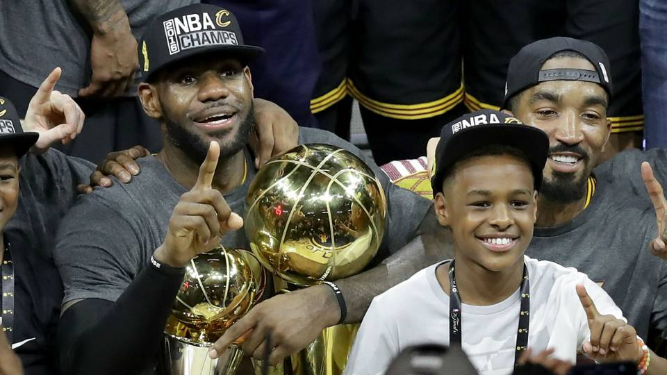 LeBron James says sharing court with son would be his greatest NBA achievement