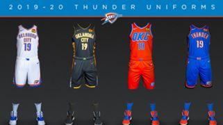 Oklahoma City Thunder Uniform
