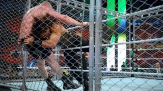 WWE グレーテスト・ロイヤルランブル ローマン・レインズ ブロック・レスナー ユニバーサル王座 金網