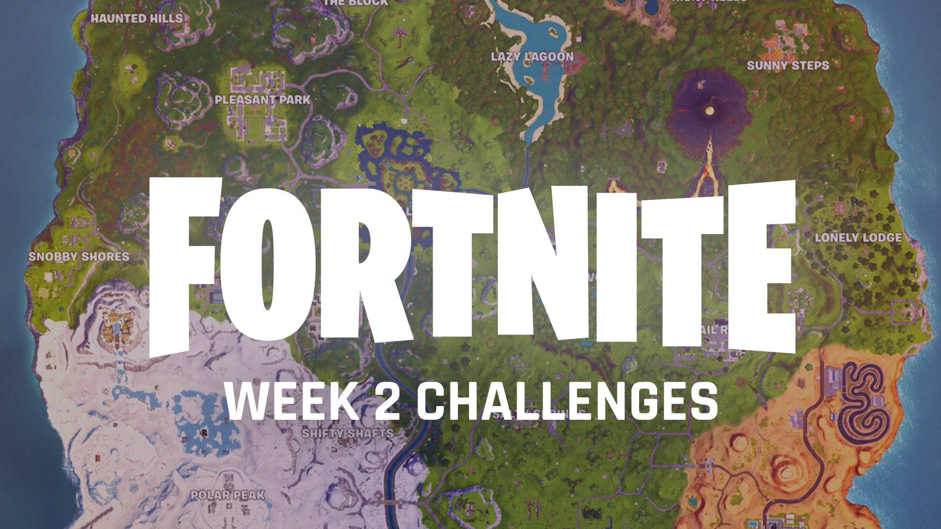 fortnite week 2 challenges how to find apples furthest north south east west points sporting news - fortnite eliminations at salty springs or haunted hills