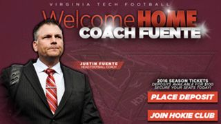 Justin Fuente-Virginia Tech-112915-GETTY-FTR