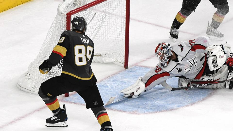 Stanley Cup Final 2018: On wrong side of 'The Save,' Golden Knights' Alex Tuch keeps a short memory