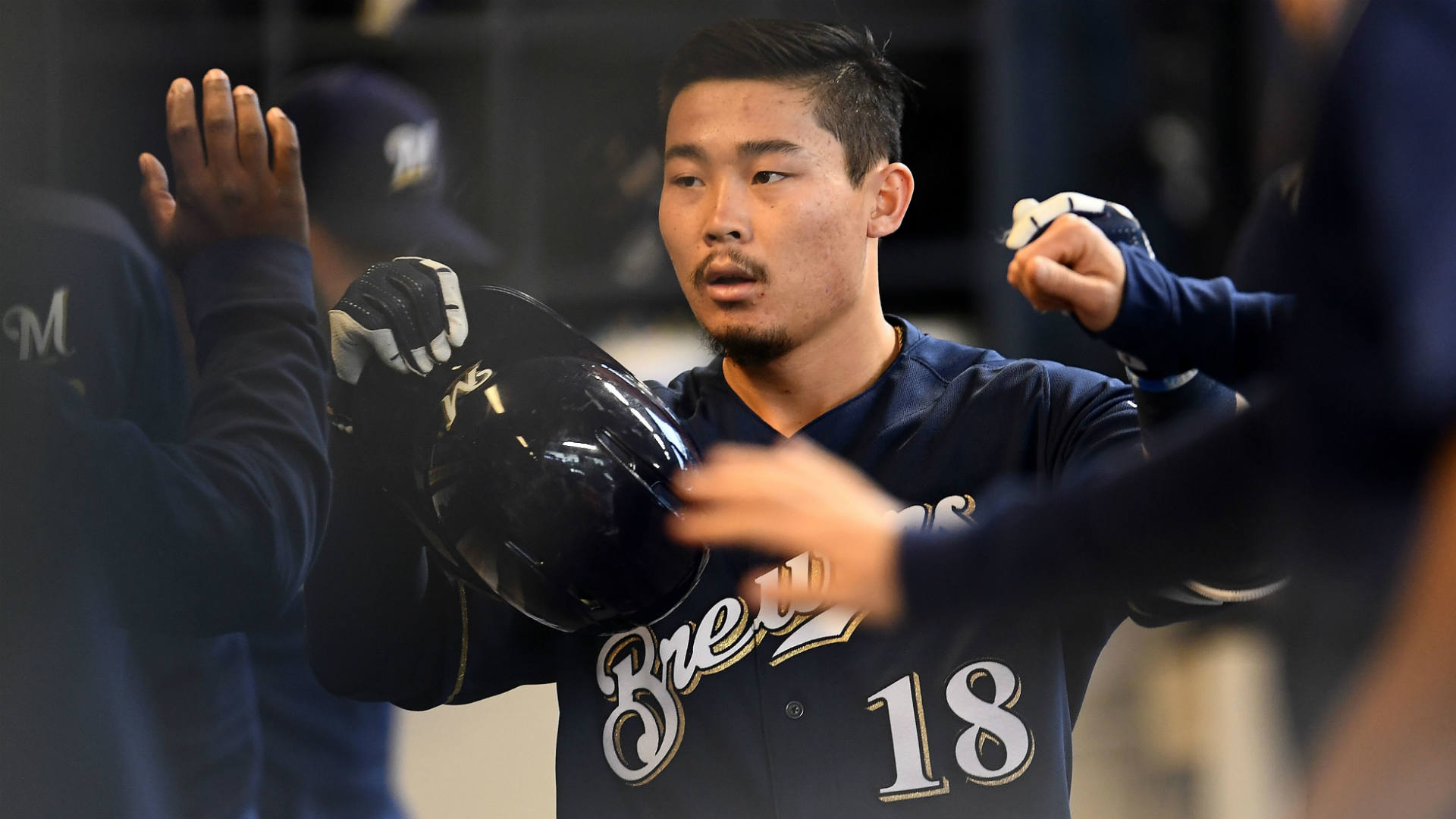 Keston Hiura has the poise Brewers need for playoff push