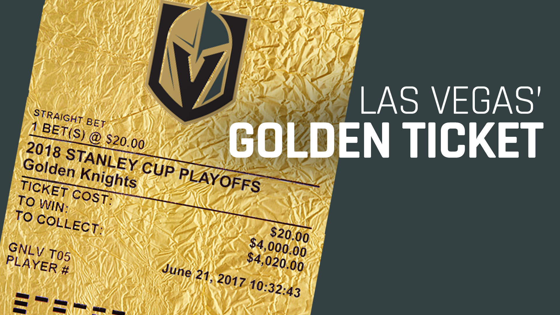 Golden ticket? As Knights near Stanley Cup, fans hope for ...