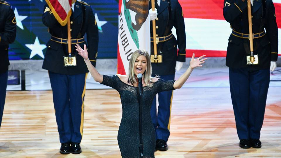 Fergie Sings One  the Worst National Anthems In Recent Memory