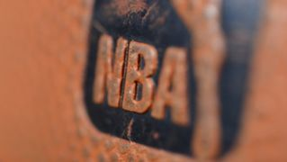 NBA official ball logo