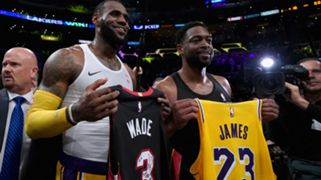 LeBron James Los Angeles Lakers Dwyane Wade Miami Heat