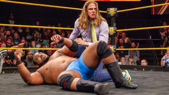WWE, NXT, #487, 結果, キース・リーとマット・リドル
