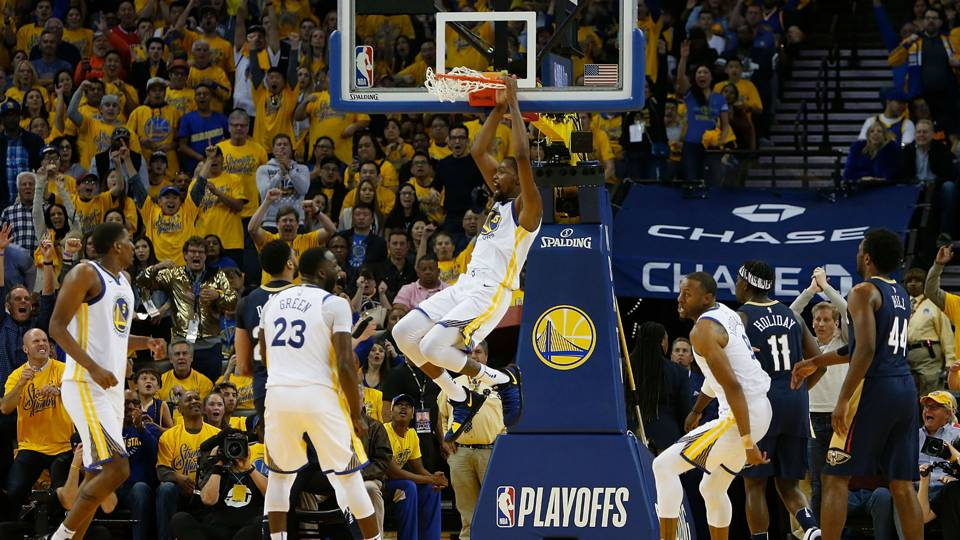 Three takeaways from Warriors' dominant Game 1 win over Pelicans