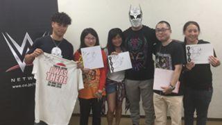 WWE 日本 東京公演 シン・カラ ミート&グリート