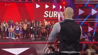 WWE ロウ #1328 オープニング