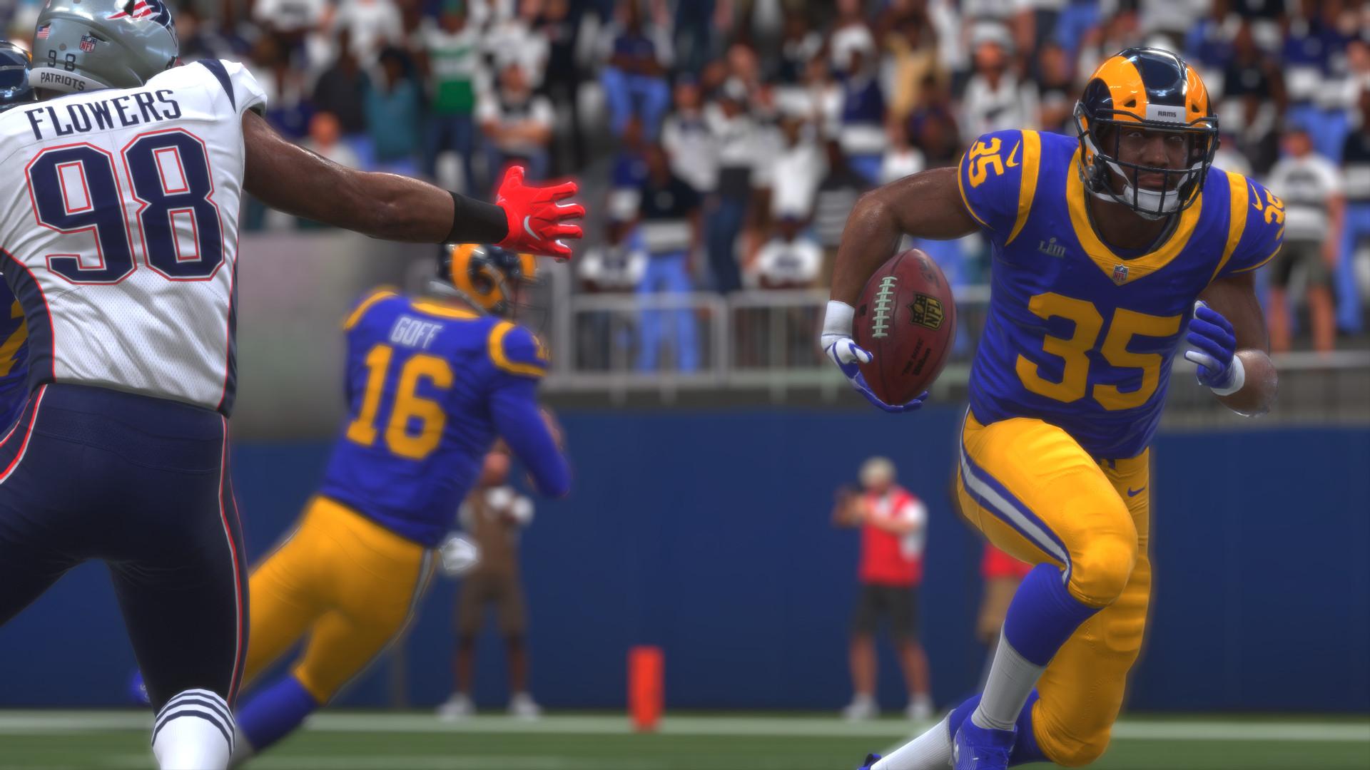 Madden NFL 19 Super Bowl LII CJ Anderson