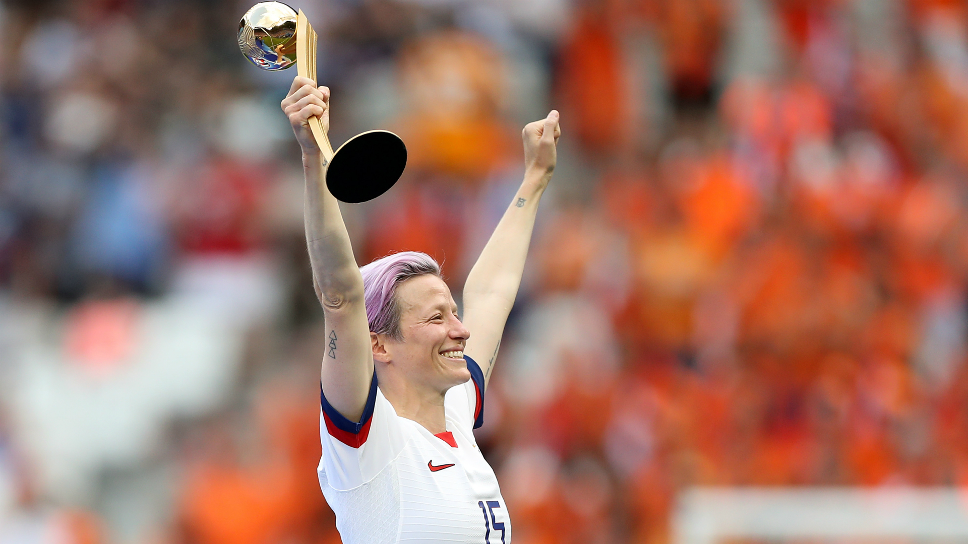 Women's World Cup 2019: Rapinoe conquered critics, doubters, haters, the Netherlands — and the planet