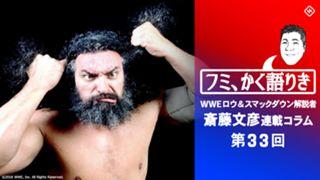 WWE ロウ スマックダウン 解説 斎藤文彦 ブロディ 後編