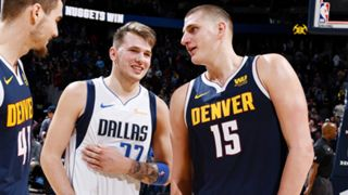 Mavericks vs Nuggets Luka Doncic Nikola Jokic