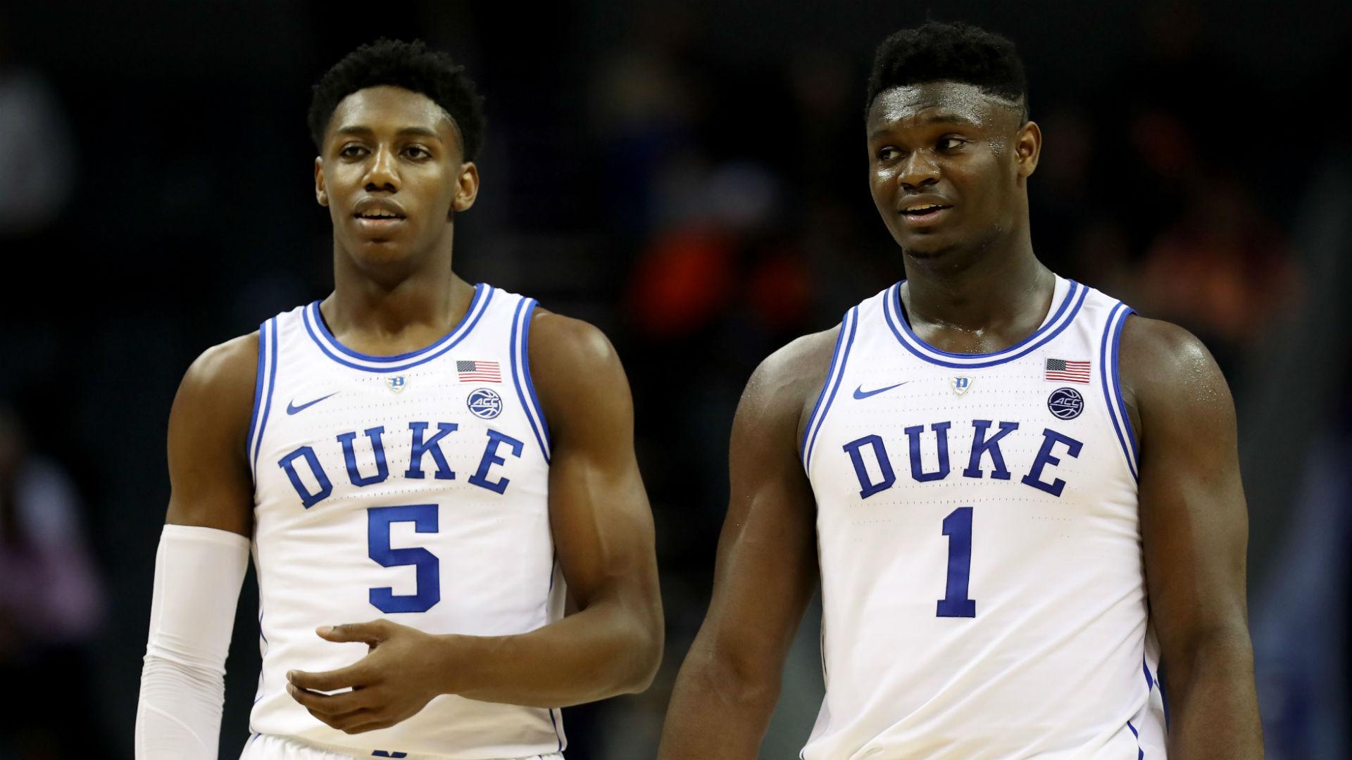 Nba Basketball New York Knicks: NBA Mock Draft 2019: Zion Williamson Is No-brainer For