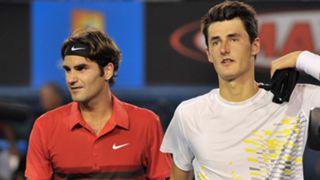 Roger Federer v Bernard Tomic