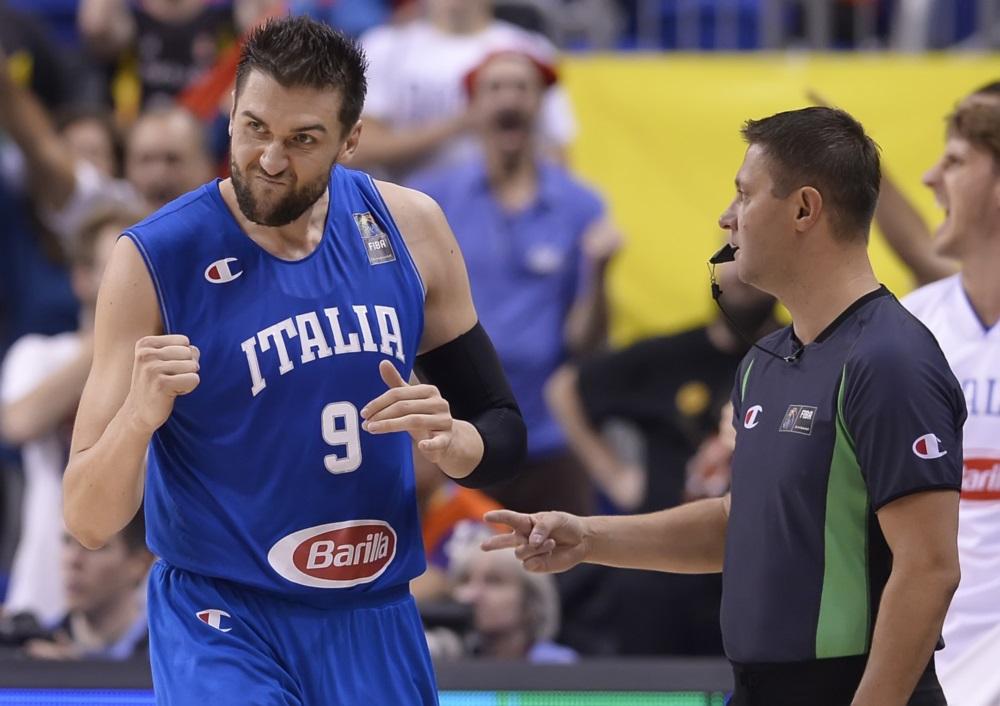 Bargnani Italy FIBA