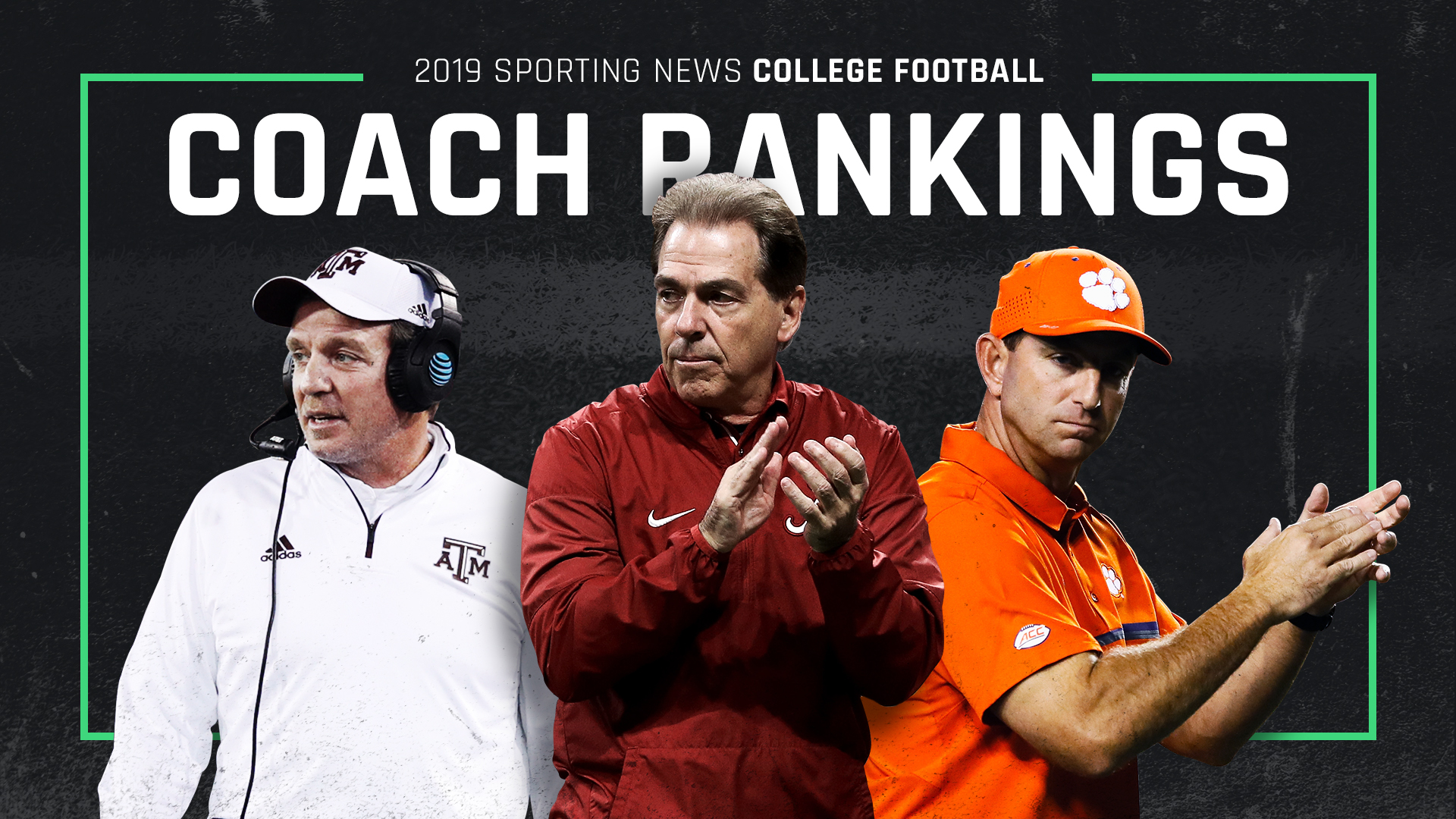 College football 2019 coach rankings: Nick Saban still No. 1, but Dabo Swinney closing gap