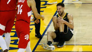 NBA Finals Game6 Klay Thompson injury