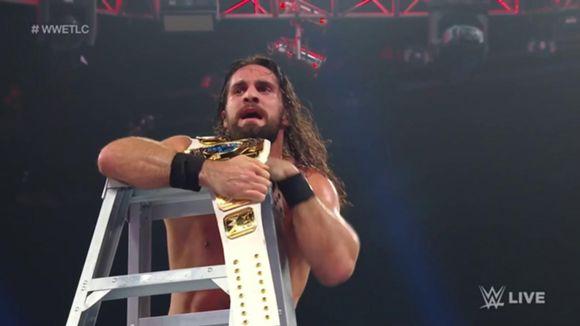 WWE, ロウ, #1333, IC王座TLCマッチ