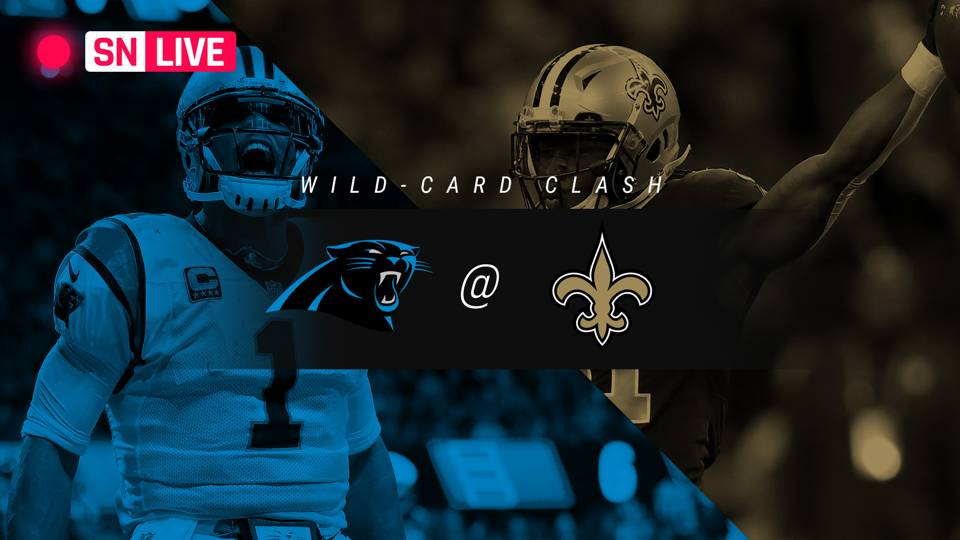 Panthers vs. Saints: Rating, live updates from wild-card game in New Orleans