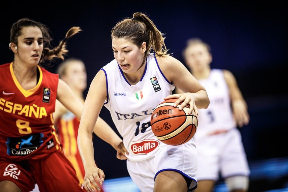 Caterina Gilli FIBA Italy